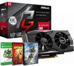 PLACA DE VIDEO ASROCK RX 570 8GB OC PHANTOM GAMING D + 1 JUEGO + XBOX GAME PASS