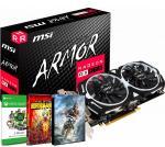 PLACA DE VIDEO MSI RX 570 4GB GDDR5 ARMOR OC + 1 JUEGO + XBOX GAME PASS