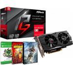 PLACA DE VIDEO ASROCK RX 570 4GB PHANTOM GAMING D + 1 JUEGO + XBOX GAME PASS