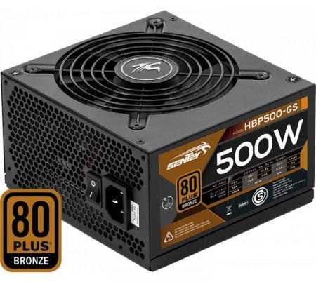 Fuente Sentey Hbp500-gs 500w 80+ Plus Bronze Atx Proteccion